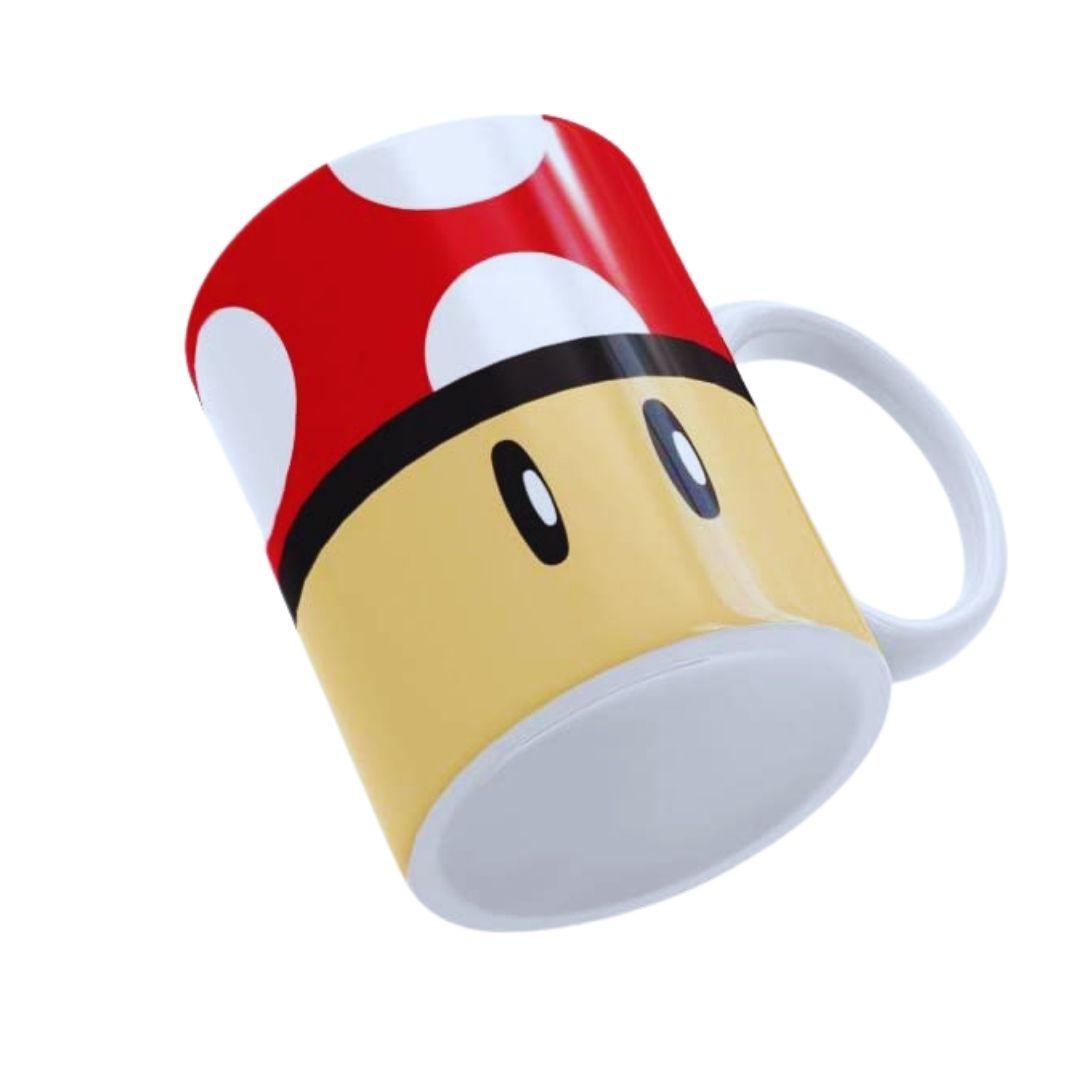 Caneca Personalizada - Super Mario - Toad Vermelho