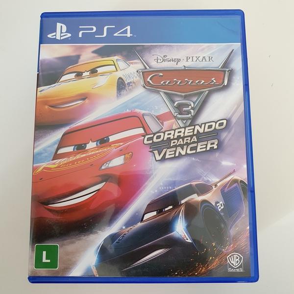 Carros 3: Correndo para Vencer - PS4 - Usado
