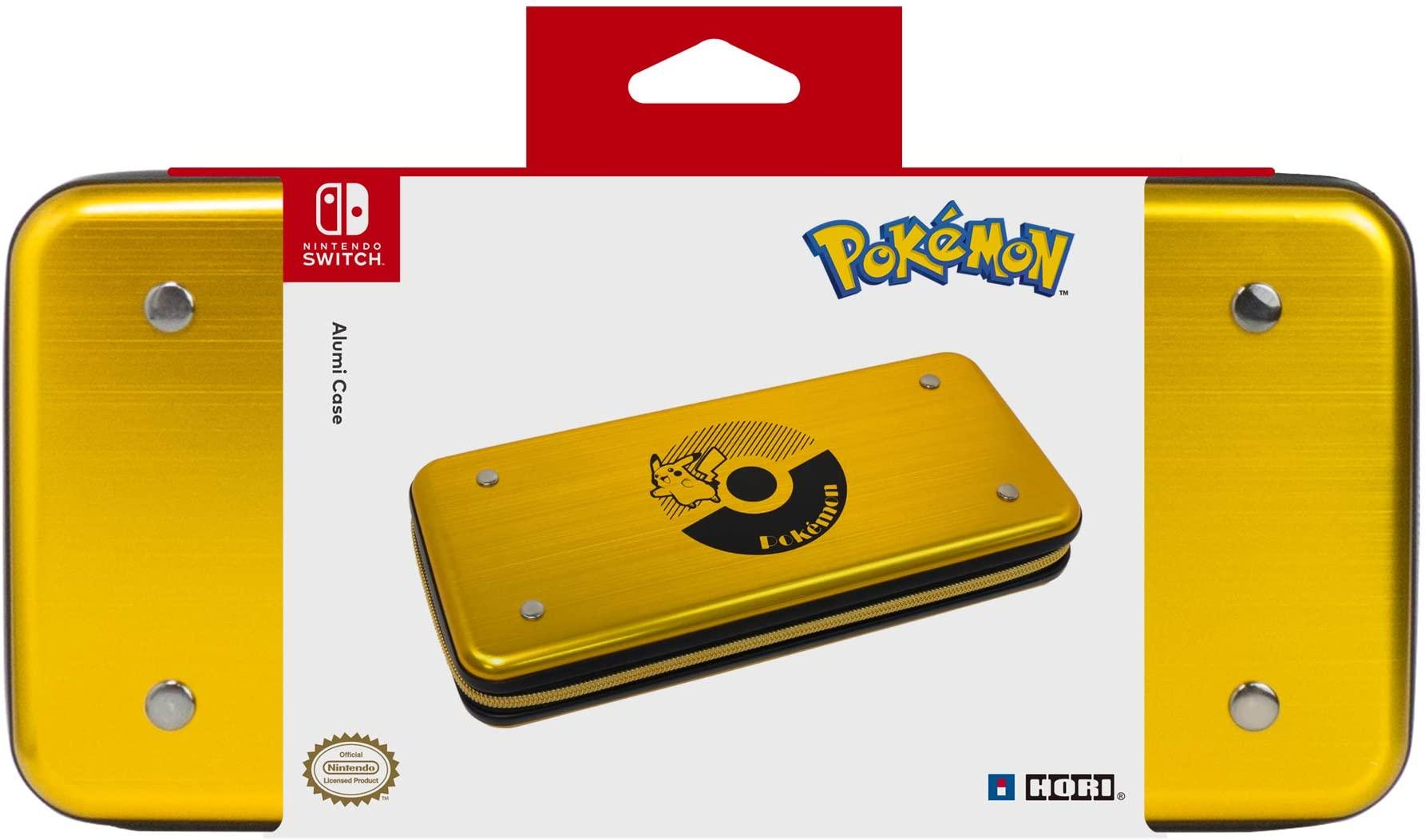 Case Alumínio Hori Pokemon Alumicase - Nintendo Switch