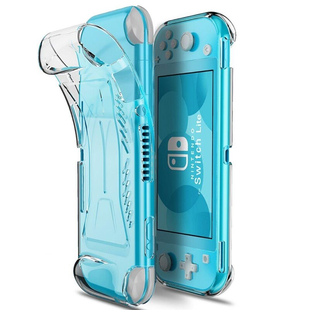Case Capa Protetora de TPU - Transparente - Nintendo Switch Lite