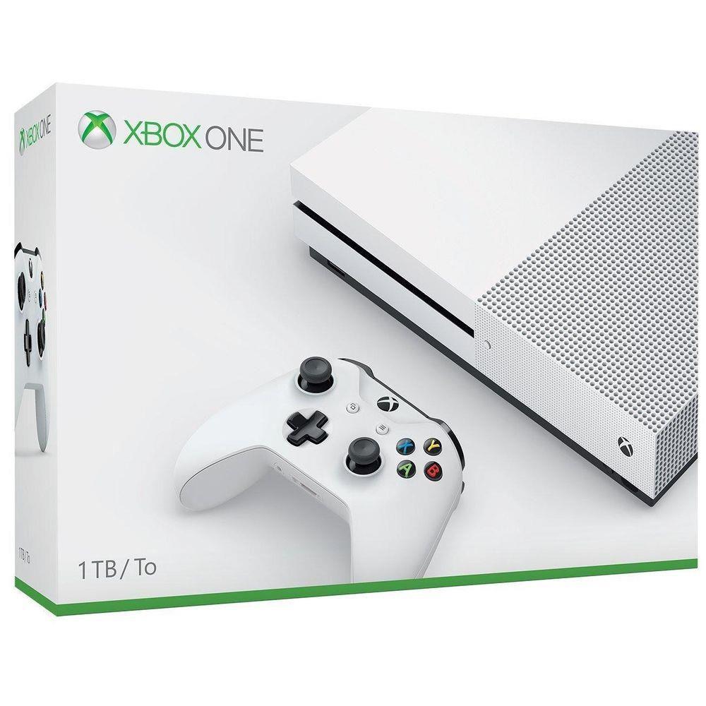 Console Xbox One S 1TB - Branco