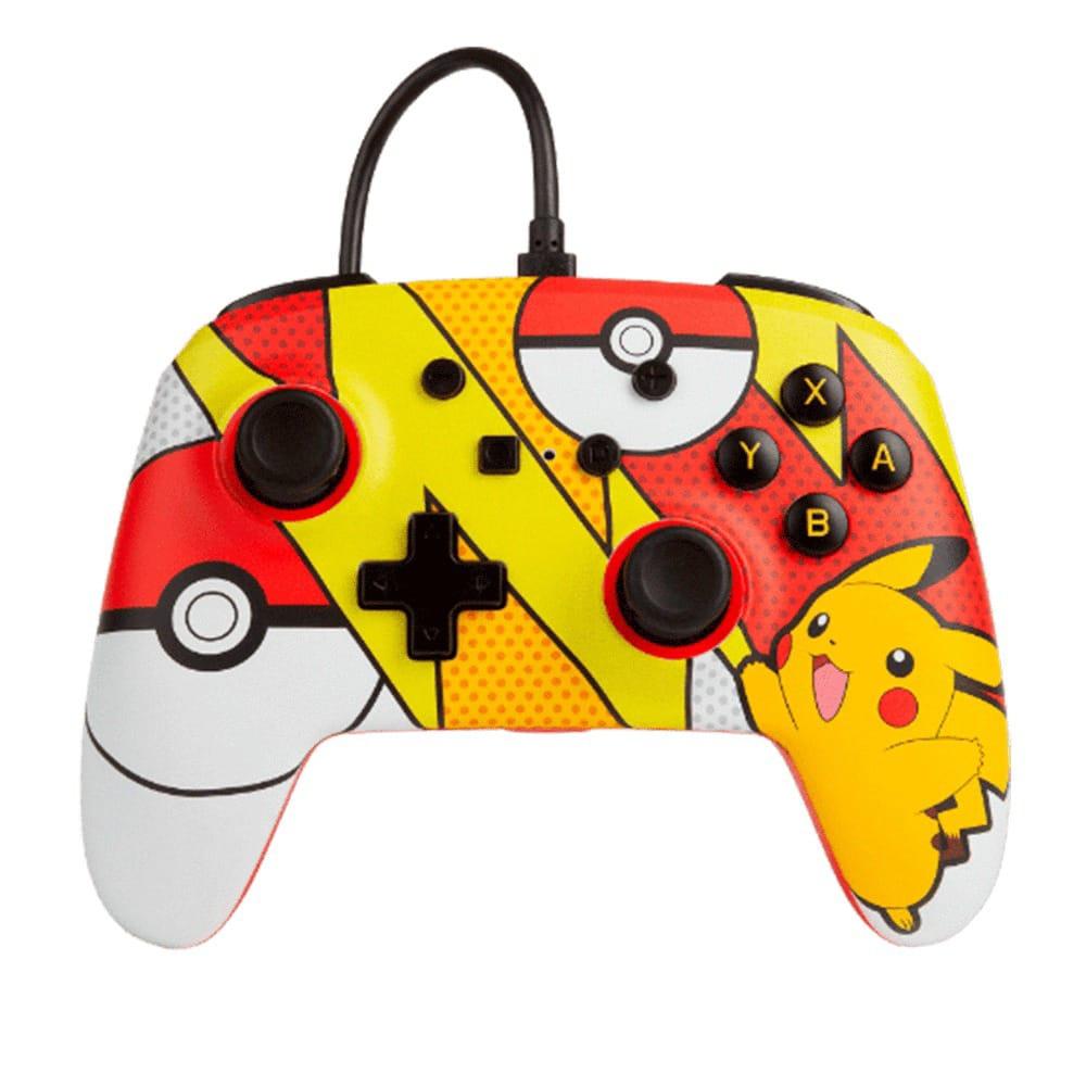 Controle PowerA Enhanced Wired - Pokémon Pikachu - Nintendo Switch