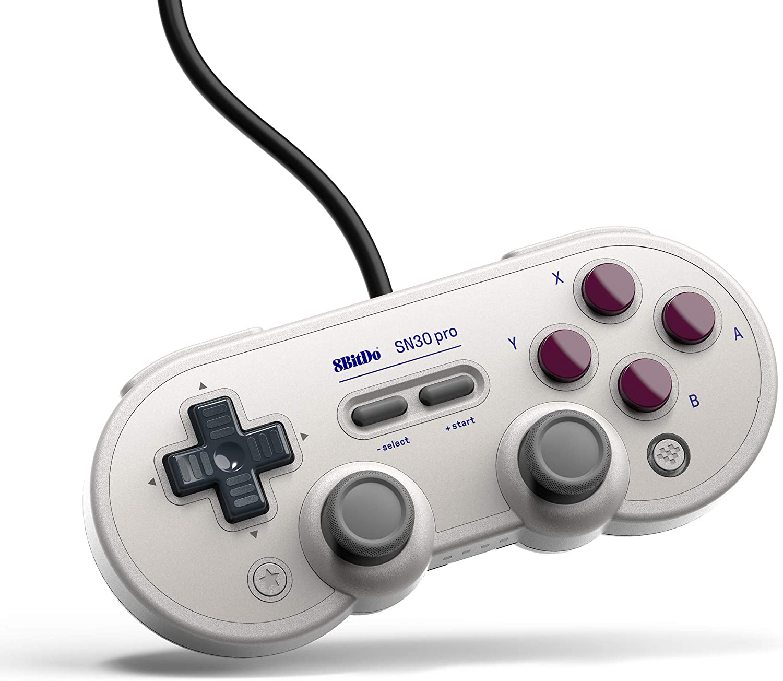 Controle SN30 Pro USB 8BitDo - Classic Edition - Nintendo Switch - Pronta Entrega