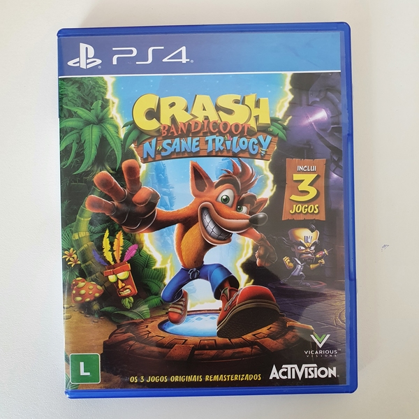 Crash bandicoot N. Sane Trilogy - PS4 - Usado