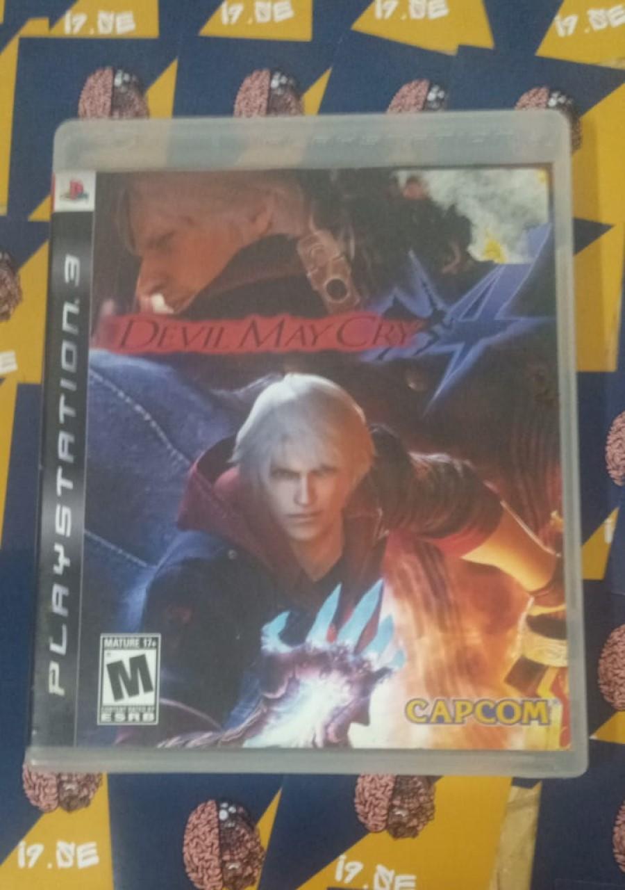 DmC Devil May Cry 4 - PS3 - Usado