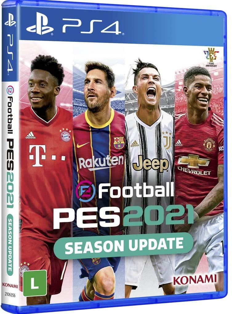 PES 21 - PS4 - Mídia Física