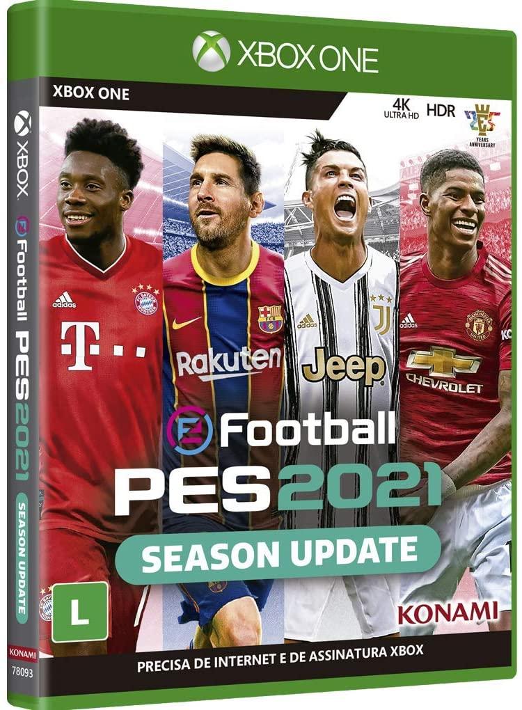 eFootball PES 2021 Season Update - Xbox One - Mídia Física