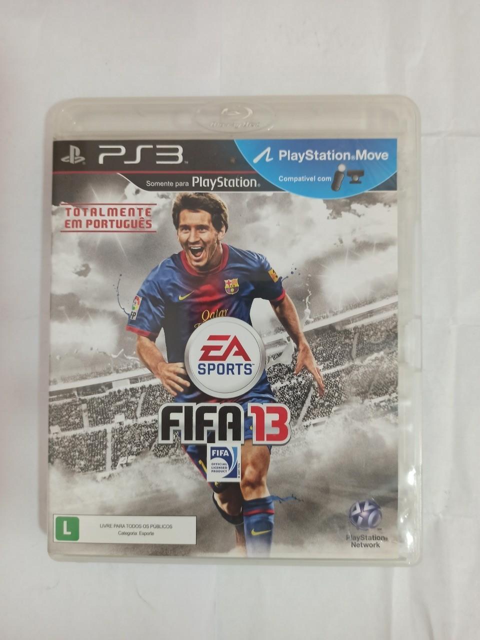 FIFA 13 - PS3 - Usado