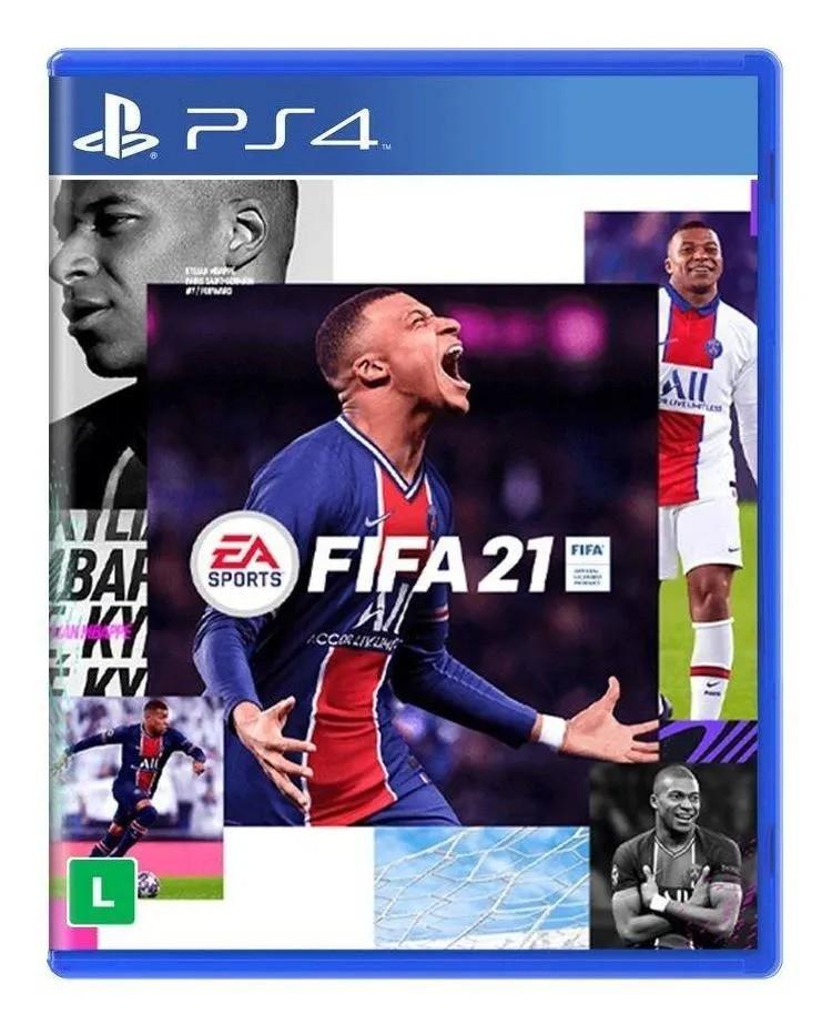 FIFA 21 - PS4 - Mídia Física