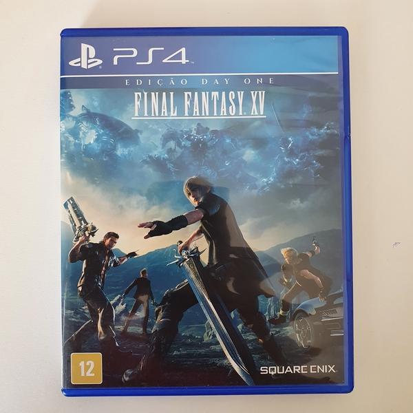 Final Fantasy XV - EDIÇÃO DAY ONE- PS4 - Usado