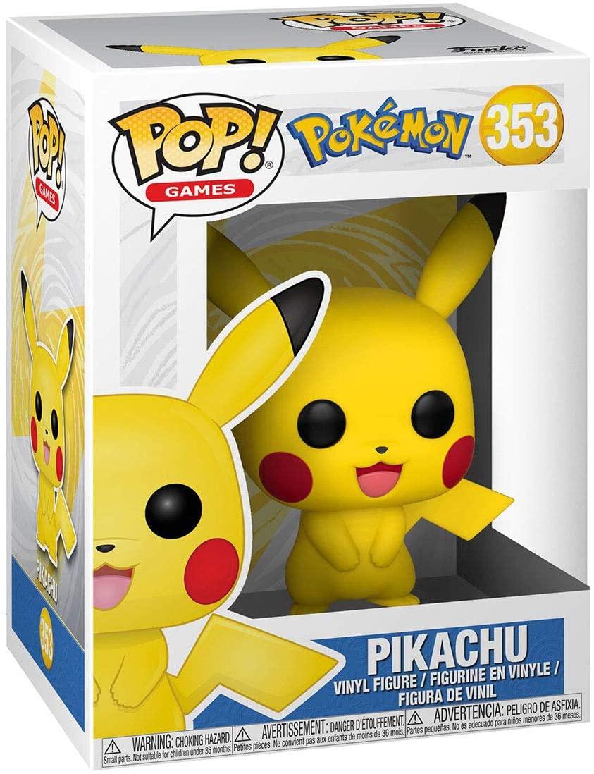 Funko Exclusivo Pop! - Pokémon 353 - Pikachu
