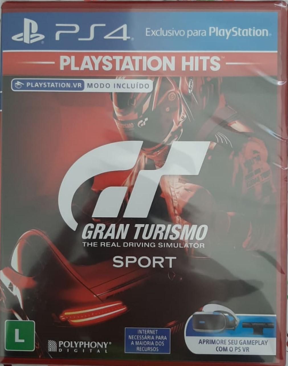 Gran Turismo The Real Driving Simulator Sport - PS4