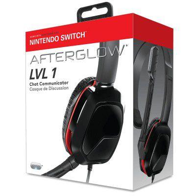 Headset Afterglow Lvl 1 - Nintendo Switch