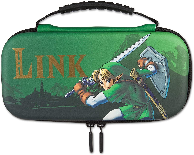 Kit de Proteção PowerA - Case + Película - Link Hyrule - Nintendo Switch Lite