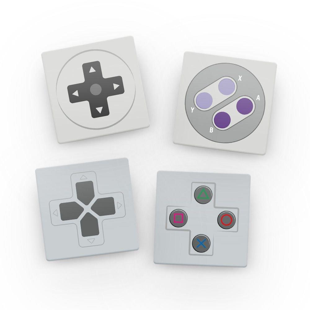 Kit Porta copos de acrílico - Controles (4 Unidades)
