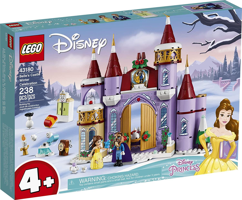 LEGO 43180 - Disney Princess: Celebração de Inverno no Castelo da Bela
