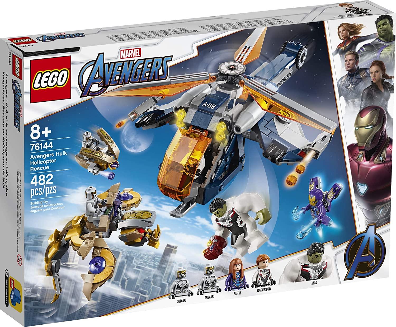 LEGO 76144 - Avengers - Largada de Helicóptero Hulk