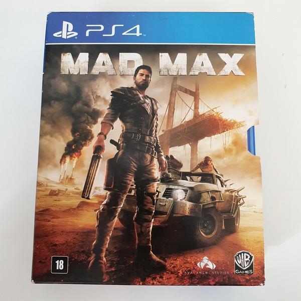 Mad Max + Mad Max 2: A Caçada Continua - PS4 - Usado