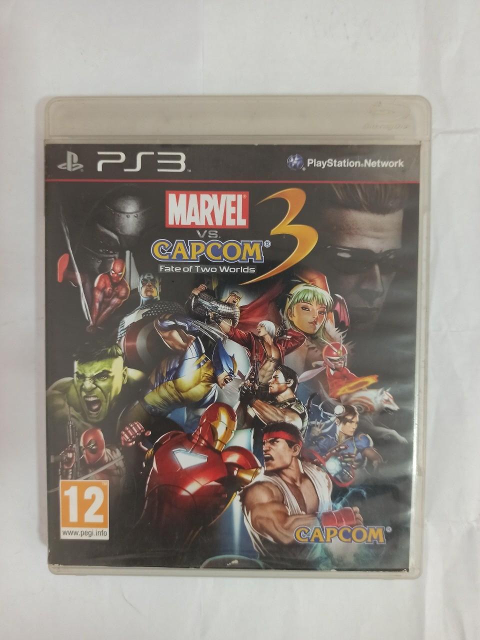 Marvel vs Capcom 3: Fate of Two Worlds - PS3 - Usado