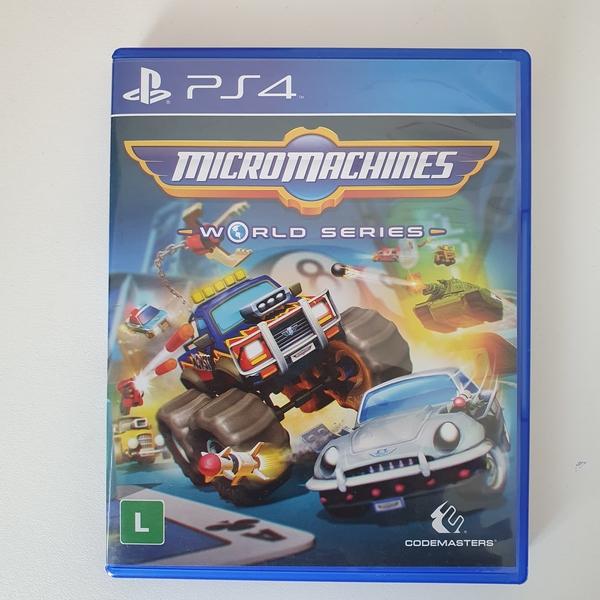 Micromachines:  World Series - PS4 - Usado