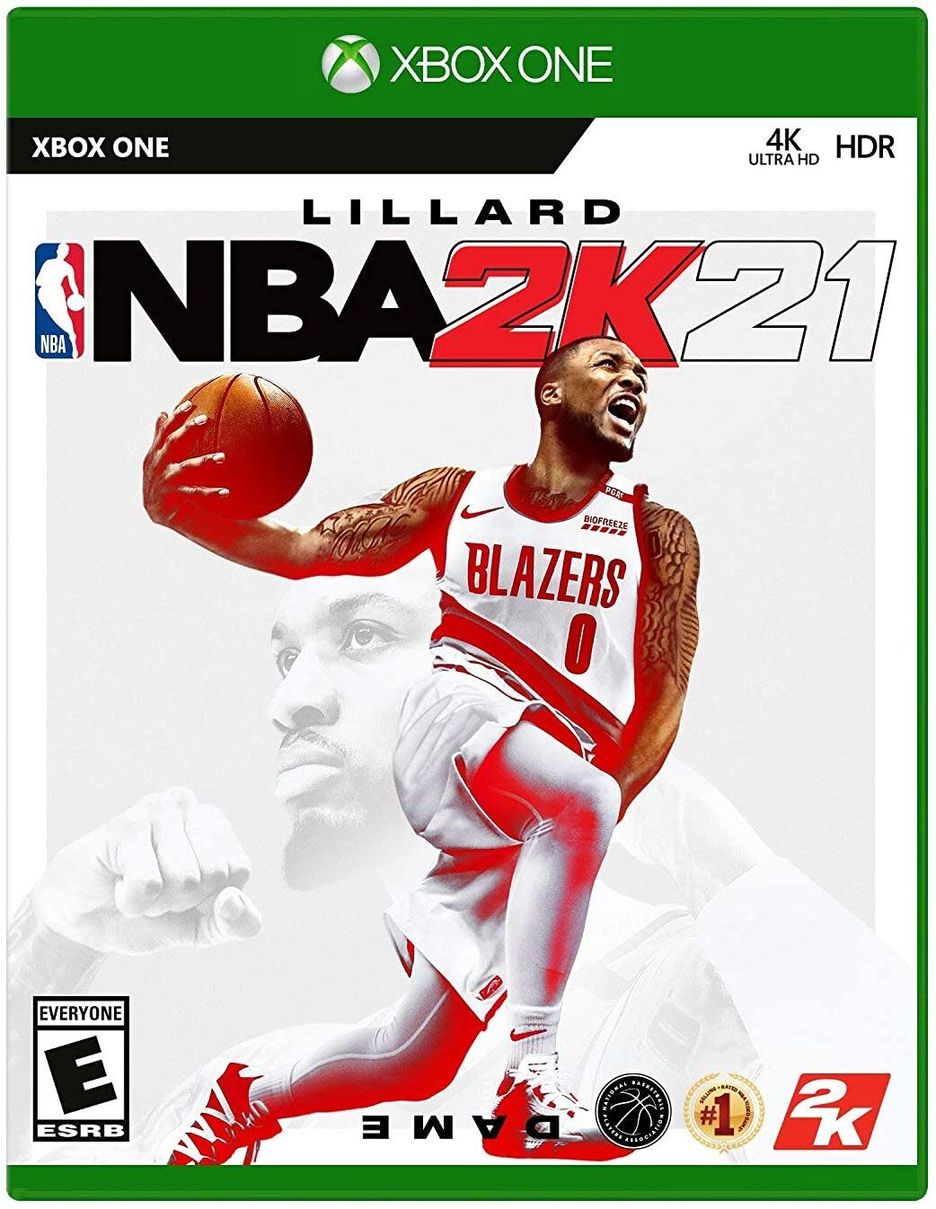 NBA 2K21 - Xbox One - Mídia Física