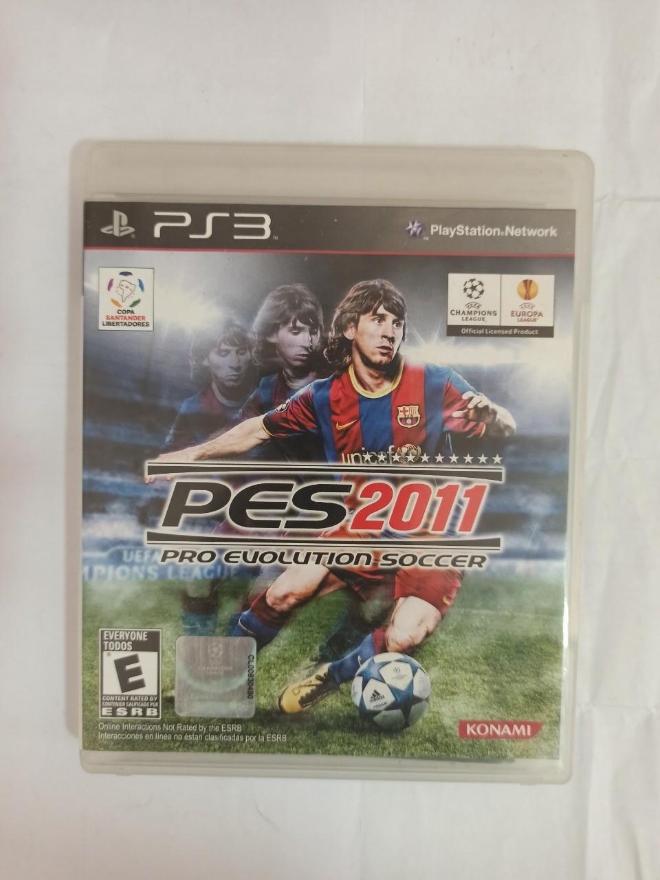 PES 2011 - PS3 - Usado