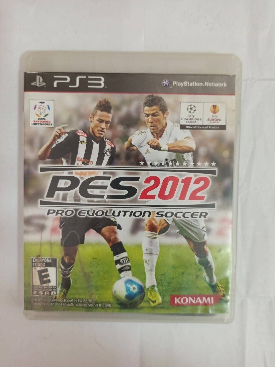PES 2012 - PS3 - Usado