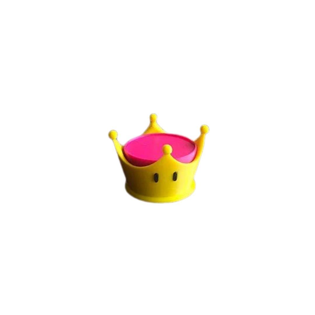 Porta Amiibo - Coroa Peach - Super Mario