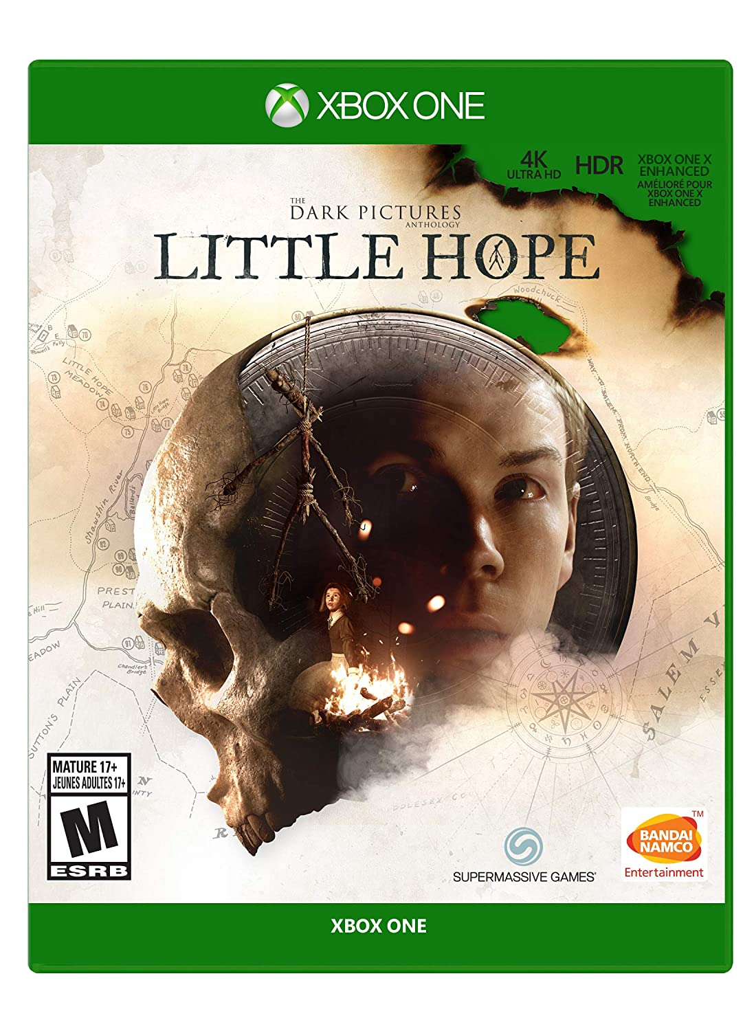 The Dark Pictures Anthology: Little Hope - Xbox One - Mídia Física