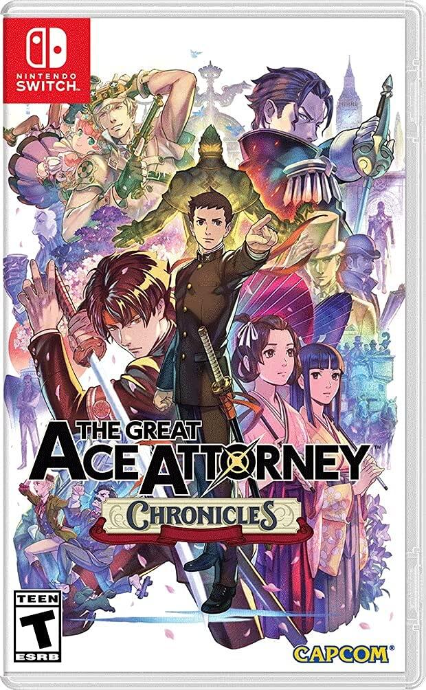 The Great Ace Attorney: Chronicles - Nintendo Switch - Pré Venda