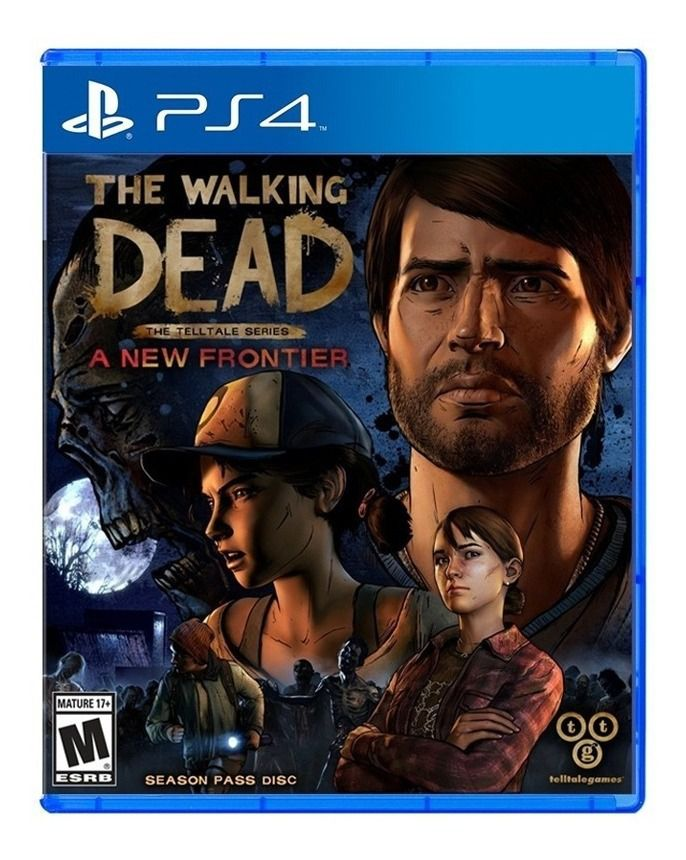 The Walking Dead - The Telltale Series A New Frontier - PS4