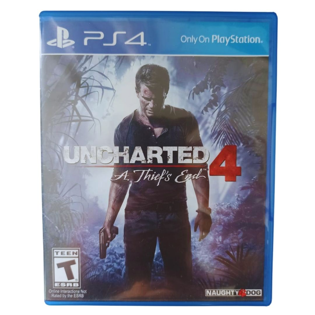 Uncharted 4: A Thief's End - PS4 - Usado
