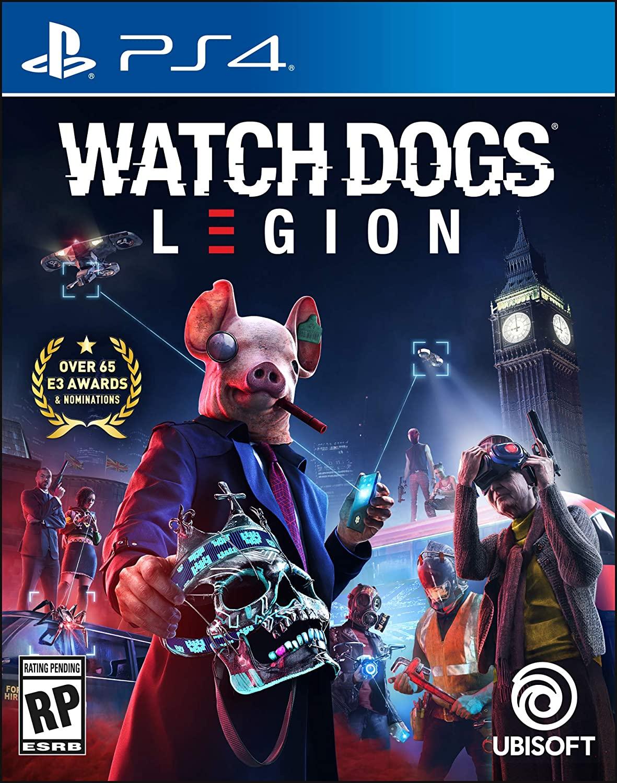 Watch Dogs: Legion - PS4 - Mídia Física