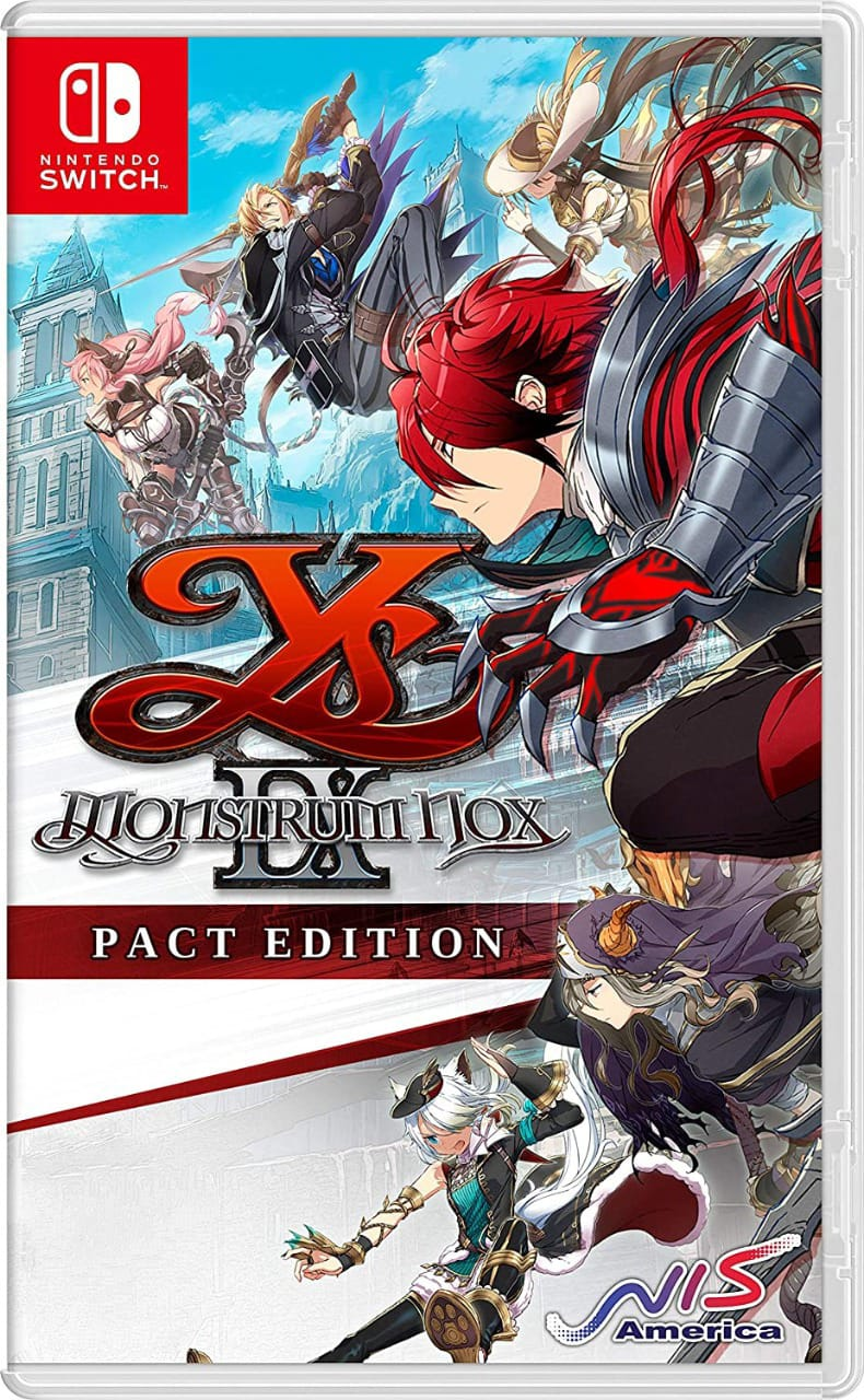 Ys IX: Monstrum Nox - Nintendo Switch