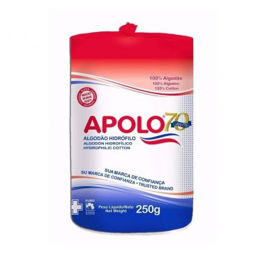 Algodao Apolo Rolo Hidrofilo 250g