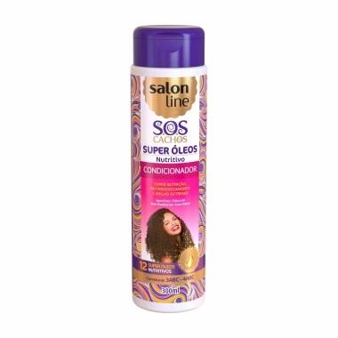 Condicionador SOS Super Óleos Nutritivo Salon Line 300ml
