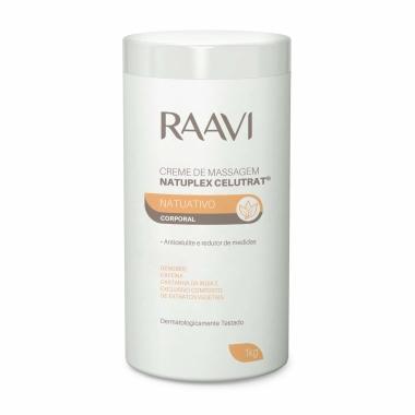 Creme de Massagem Anticelulite Natuativo Corporal Raavi 1kg