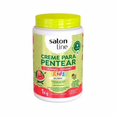 Creme Para Pentear Cachinhos Definitos Kids - Salon Line 1kg