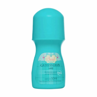 Desodorante Roll-On Candy Giovanna Baby 50ml