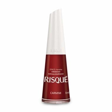 Esmalte Vermelhos Risque Carmim 8ml