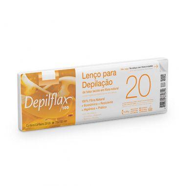Lenço para Depilação Depilflax - 20 unid
