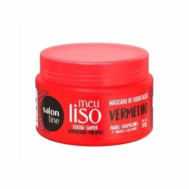 Máscara de Hidratação Meu Liso Vermelho - Salon Line 300g