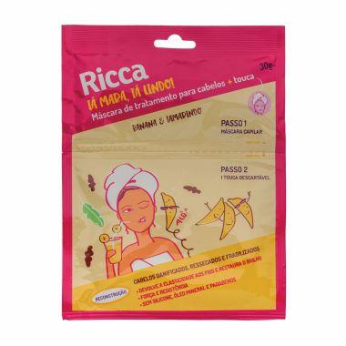Máscara de Tratamento para Cabelos + Touca Banana e Tamarindo - Ricca