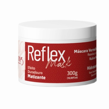 Máscara Vermelha Matizante Reflex Mask - Maxiluring 300g