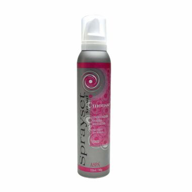 Mousse Fixador Forte - Sprayset Aspa/Serinet 150ml