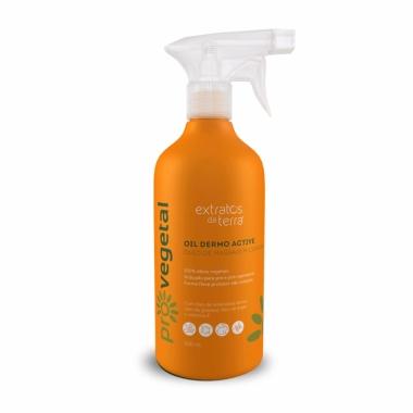 Pro Vegetal Oil Dermo Active - Óleo De Massagem Corporal Extratos Da Terra 500ml