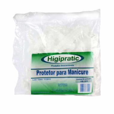 Protetor para Manicure Descartável Higipratic 50und