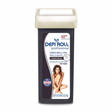 Refil Cera Corporal Roll-On Negra Depi Roll 100g
