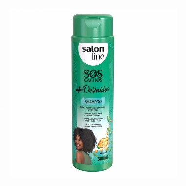 Shampoo Sos Cachos + Definidos - Salon Line 300ml
