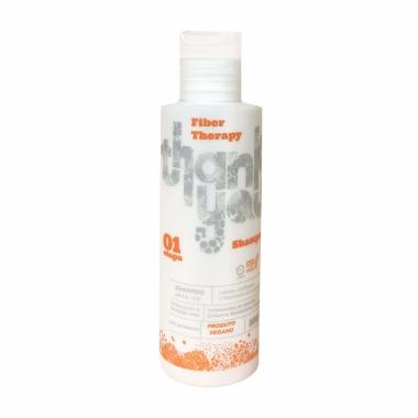 Shampoo Thank You Fiber Repair 100ml - Cabelos Danificados